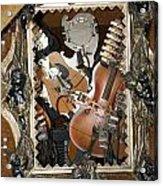 Musical Abstract Acrylic Print