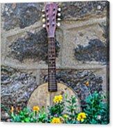 Musical Garden Acrylic Print