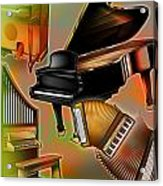 Musical Instruments With Keyboards Acrylic Print