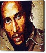 Rastafari Acrylic Print