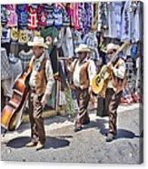 Musicians La Bufadora Acrylic Print