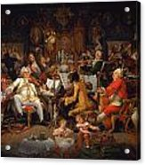 Musicians Of The Old School Acrylic Print