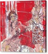 Musicians On Chartres Street I Acrylic Print