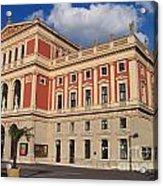 Musikverein Gesellschaft Der Musikfreunde Building Vienna Austria Acrylic Print