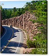 Muskoka Drive Through Acrylic Print