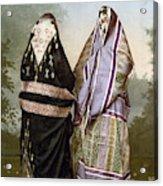 Muslim Women, C1895 Acrylic Print