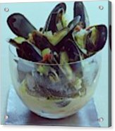 Mussels In Broth Acrylic Print