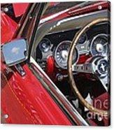 Mustang Classic Interior Acrylic Print