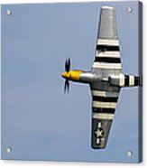 Mustang Flyby D-day Acrylic Print