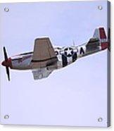 Mustang P-51 Aircraft Acrylic Print