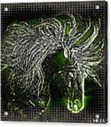 Mustang Thrill Acrylic Print