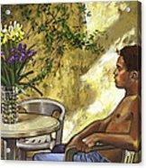 Mustapha's Garden Acrylic Print