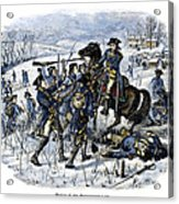 Mutiny: Anthony Wayne 1781 Acrylic Print by Granger