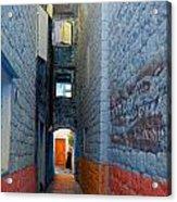 My Alley  Acrylic Print