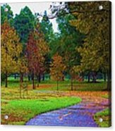 My Autumn Acrylic Print