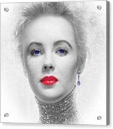 My Beautiful Elizabeth Taylor No 2 Acrylic Print