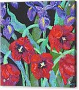My Birthday Bouquet Acrylic Print