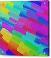 My Box Of Color Acrylic Print