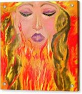 My Burning Within Acrylic Print