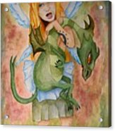 My Dragon Acrylic Print