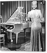 My Dream Is Yours, Doris Day, In A Gown Acrylic Print