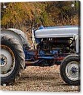 My Faithful Tractor Acrylic Print