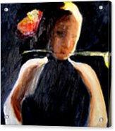 My First Glimpse Acrylic Print