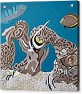 My Fish Tank Acrylic Print