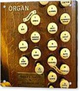 My Ideal Organ Acrylic Print