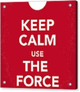 My Keep Calm Star Wars - Rebel Alliance-poster Acrylic Print
