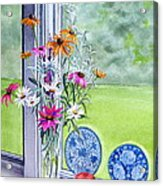 My Kitchen Window Acrylic Print