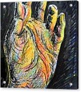 My Left Hand 3 Acrylic Print