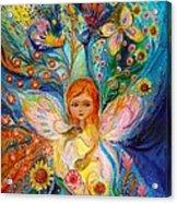 My Little Fairy Caren Acrylic Print