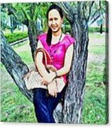 My Lovely Wife Acrylic Print