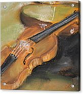 My Lttle Violin Acrylic Print