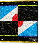 My Mind's Mosaic Acrylic Print