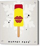 My Muppet Ice Pop - Janice Acrylic Print