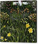 My Neighbor's Garden Acrylic Print