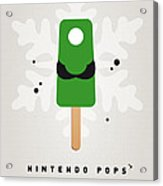 My Nintendo Ice Pop - Luigi Acrylic Print