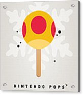 My Nintendo Ice Pop - Mega Mushroom Acrylic Print by Chungkong Art