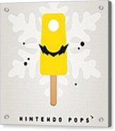 My Nintendo Ice Pop - Wario Acrylic Print by Chungkong Art