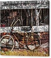 My Old Bike Acrylic Print