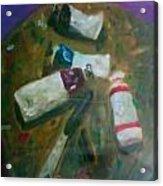 My Paints Acrylic Print