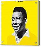 My Pele Soccer Legend Poster Acrylic Print