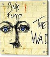 My Pink Floyd Wall Acrylic Print by Todd Spaur