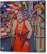 My Puerto Rican Parade Acrylic Print