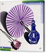 My Purple Fan Acrylic Print
