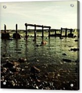 My Sea Of Ruins Acrylic Print by Marco Oliveira