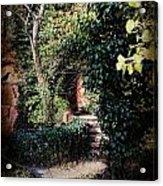 My Secret Garden Acrylic Print