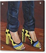 My Shoes Acrylic Print